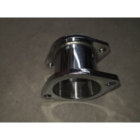 EXHAUST EXTENSION STAINLESS STEEL PIECE 80MM X 3 INCH DIAMETER