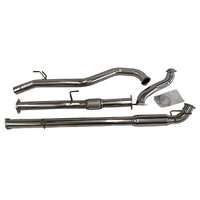 HILUX EXHAUST 3'' 2005-15 D4D KUN26R NO CAT STAINLESS TURBO BACK
