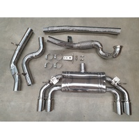 ULTIMATE SERIES TURBO BACK EXHAUST FOR VW GOLF 7 R / 7.5 R WITH VALVES & NO CAT