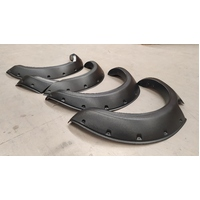 FORD RANGER PX FLARES KIT - FRONT AND REAR - ABS