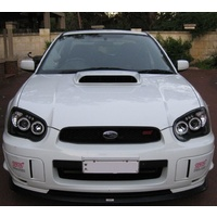 SUBARU IMPREZA HALO PROJECTOR HEAD LIGHTS MY03-MY05 - BLACK