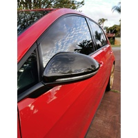 VW GOLF 7 7.5 CARBON FIBRE MIRROR COVERS GTI GOLF R