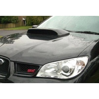 SUBARU WRX STI FIBREGLASS BONNET SCOOP MY06 - MY07