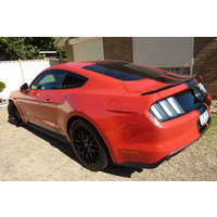 REAR SPOILER LIP FOR FORD MUSTANG 2015-2019 COUPE S550 GT FM