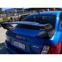 SUBARU STI CARBON REAR SPOILER FOR MY09-MY14 WRX & IMPREZA SEDAN