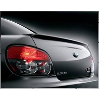 SUBARU STI LIMITED REAR SPOILER LIP FOR IMPREZA , WRX , STI MY01-07 SEDAN