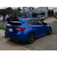SUBARU MY08-14 HATCH VARIS STYLE SPOILER WING GRB WITH CARBON