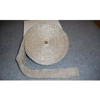 CERAMIC FIBRE EXHAUST WRAP 10 METRES