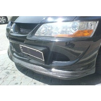 EVO 8 VIII CARBON FIBRE FRONT LIP SPOILER DO-LUCK STYLE
