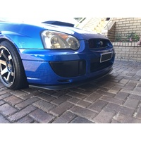 FRONT LIP SPOILER for SUBARU IMPREZA WRX STI MY03-05 SEDAN-NO SPLITTERS REQUIRED