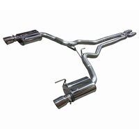 FORD MUSTANG S550 15-17 COUPE CAT BACK EXHAUST