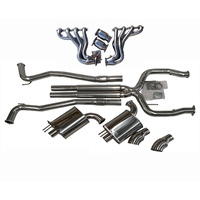 COMMODORE UTE VE VF V8 CAT BACK EXHAUST 3 INCH & HEADERS EXTRACTORS + CAPRICE WM WN