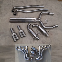 COMMODORE UTE VE VF V8 SUPERLOUD CAT BACK EXHAUST 3 INCH & HEADERS EXTRACTORS + CAPRICE WM WN