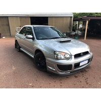 SUBARU IMPREZA & WRX MY03-05 FRONT LIP, SPLITTERS & FOG COVERS