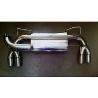 SUBARU STI HATCH MY08-14 & WRX MY11-14 REAR SPORTS MUFFLER EXHAUST
