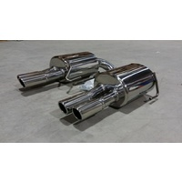 SUBARU LIBERTY EXHAUST MUFFLER TWIN TIP SEDAN MY04-09