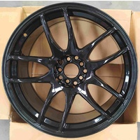 ULTREX COBRA GLOSS BLACK 19 X 9.5 RIMS WHEELS