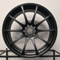 ULTREX RS FLAT BLACK 18 X 8 RIMS WHEELS