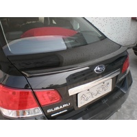 SUBARU LIBERTY REAR SPOILER LIP MY10-14 FIBREGLASS UNPAINTED