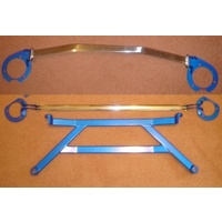 WRX STI HEAVY DUTY STRUT BAR SET - FRONT REAR H BRACE MY94-MY00